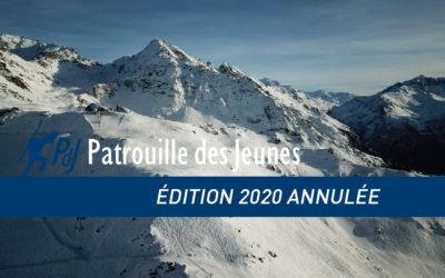 Annulation de la PdJ 2020